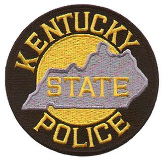 Kentucky State Police - Image: Kentucky State Police patch
