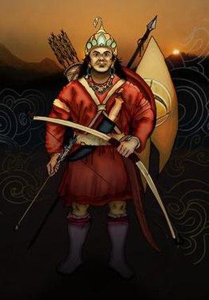 Yalambar - Image: Kirat King Yalambar