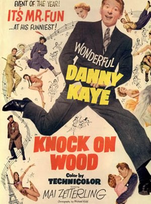 Knock on Wood (film) - Promotional poster for the film