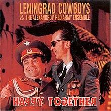 Image result for leningrad cowboys happy together