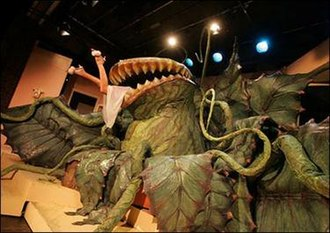 Little Shop of Horrors (musical) - Audrey II devours Audrey; 2006–07 West End production