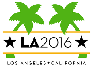 Los Angeles bid for the 2016 Summer Olympics - Image: Lalogo 2016