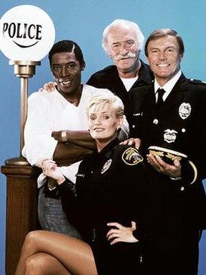 The Last Precinct - publicity shot of cast