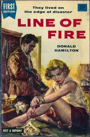 Line of Fire (novel) - Paperback original