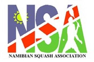 Namibian Squash Association - Image: Logo Namibian Squash Association