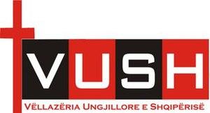 Protestantism in Albania - Image: Logo of Albanian Evangelical Brotherhood (VUSH)