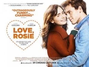Love, Rosie (film) - UK release poster