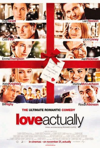 Love Actually - Theatrical release poster