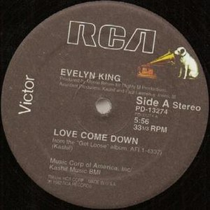 Love Come Down - Image: Love Come Down 12 inch US vinyl Side A