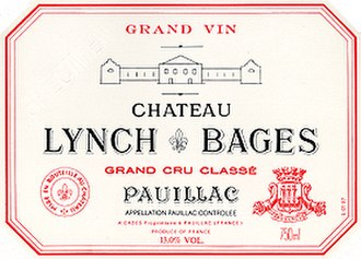 Château Lynch-Bages - Image: Lynch Bages Label