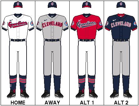 MLB-ALC-CLE-Uniform