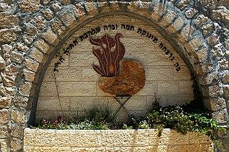 Murder of Shalhevet Pass - Memorial to Shalhevet Pass, Hebron