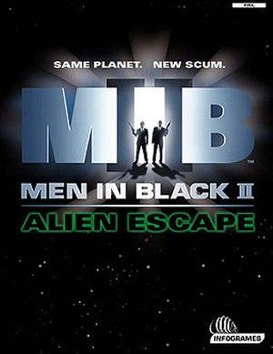 Men in Black II: Alien Escape - Image: Men in Black II Alien Escape