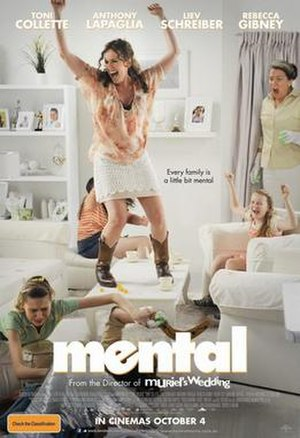 Mental (2012 film) - Theatrical release poster