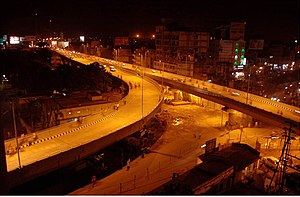 Many new flyovers have come up in Patna in the...