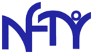 North American Federation of Temple Youth - The NFTY logo. This basic form has been in use for decades.