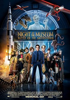 <i>Night at the Museum: Battle of the Smithsonian</i> 2009 film by Shawn Levy