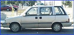 1986/87 Nissan Multi (Canada) / Stanza (US)