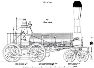 Winchester and Potomac Railroad - Norris 4-4-0 locomotive suspension such as used on the Ancient, Virginia and Potomac locomotives