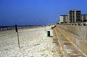 Bulkhead (barrier) - Image: North Padre Islandfig 10LG