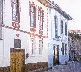 Goumenissa - 19th century houses.