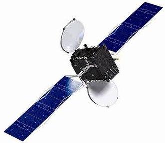 Optus (satellite) - Artist impression of Optus D1