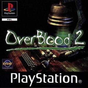 OverBlood 2 - European cover art
