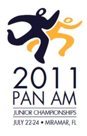 2011 Pan American Junior Athletics Championships - Image: Pan american junior champs logo 2011
