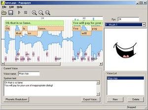 lip sync animation software mac