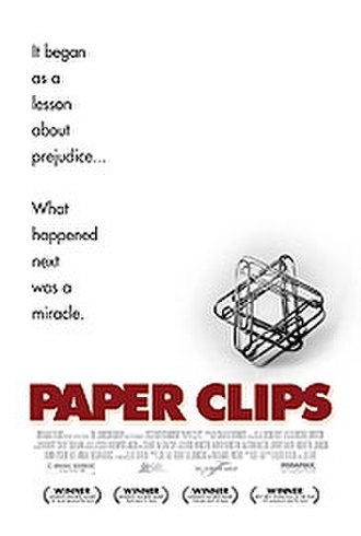 Paper Clips Project - A middle school project teaching tolerance in a small Tennessee city turned into a world-renowned memorial to the victims of the Holocaust. Poster from 2004 documentary film
