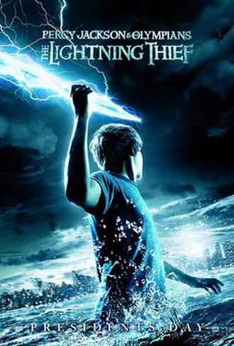 Percy Jackson & the Olympians: The Lightning Thief - Theatrical release poster