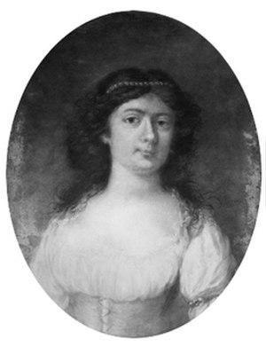 Charlotta Malm-Reuterholm - Lovisa Charlotta Malm, by Jonas Forsslund