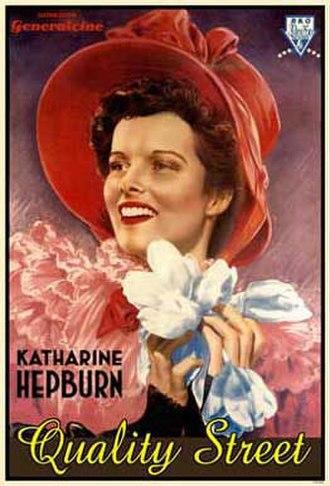 Quality Street (1937 film) - Original poster