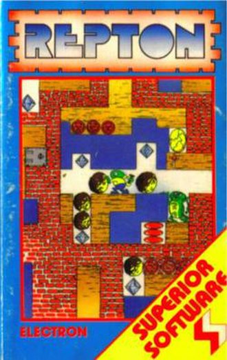 Repton (video game) - Image: Repton (Superior Software) cover