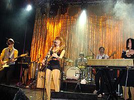 Rilo Kiley cântând live (2007)