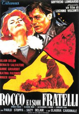 Rocco and His Brothers - Italian theatrical release poster
