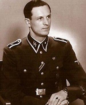 Rochus Misch - Misch as a Unterscharführer