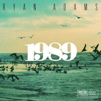 1989 (Ryan Adams album) - Image: Ryan Adams 1989cover