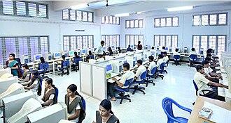 Sree Narayana Gurukulam College of Engineering - Computer Lab