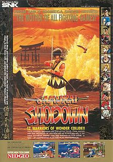 <i>Samurai Shodown</i> (1993 video game) Competitive fighting game