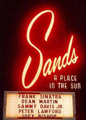 Sands Hotel and Casino - Image: Sands Hotel and Casino logo