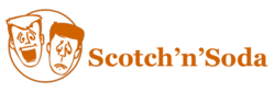 Scotch n' Soda's logo; student-run acting group from Carnegie Mellon, Feb 2018.png