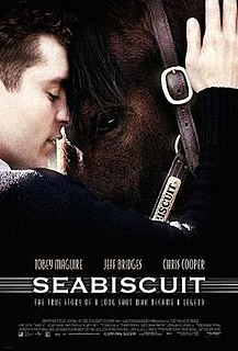 <i>Seabiscuit</i> (film) 2003 film by Gary Ross