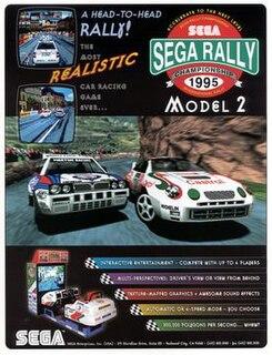 <i>Sega Rally Championship</i> 1995 racing video game
