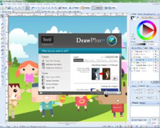 DrawPlus - Image: Serif Draw Plus X4