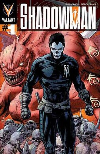 Shadowman (comics) - Image: Shadowman issue 1 comic book cover by Valiant Comics