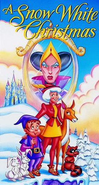 A Snow White Christmas - VHS cover