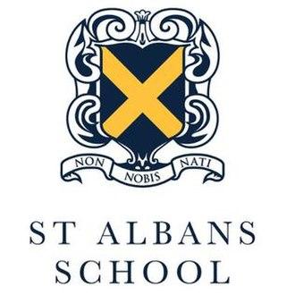 St Albans School, Hertfordshire - Image: St Albans School logo