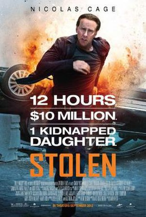 Stolen (2012 film) - Theatrical release poster