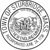 Official seal of Sturbridge, Massachusetts